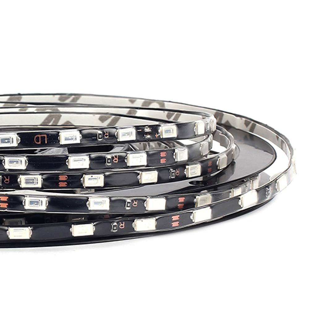 Narrow width LED Strip 5730 SMD 60LEDs/m 5M DC12V IP67 Waterproof LED Flexible Strip Light 8 color for choice