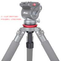 JIEYANG Bowl Adapter Metal 75mm Half Ball Flat to Bowl Adapter for Fluid Head Tripod DSLR Rig Camera