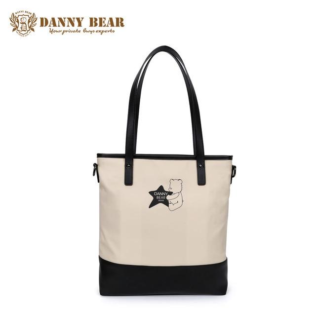 Danny Bear High Quality Vintage S Handbag Fashion Women Handbags Large Travel Tote Bag Bolso De