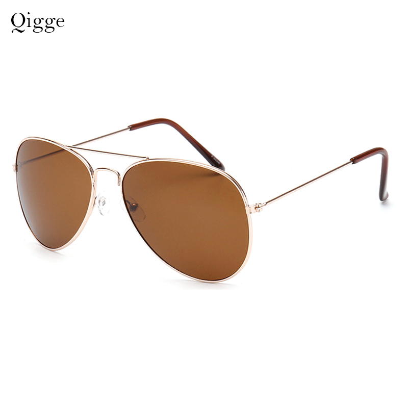 Qigge Nuevo Aviador Gafas de Sol de Marco de Metal Unisex UV400 Gafas - Accesorios para la ropa - foto 3