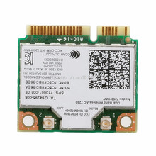 For Dual Band Wireless AC 7260HMW Mini PCI E BT4 0 Card For Intel For HP