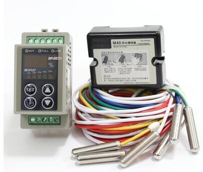 FREE SHIPPING 100% New and original BF-DKT4 Rail Water Level Controller Digital Display Electrode Controller Level Sensor