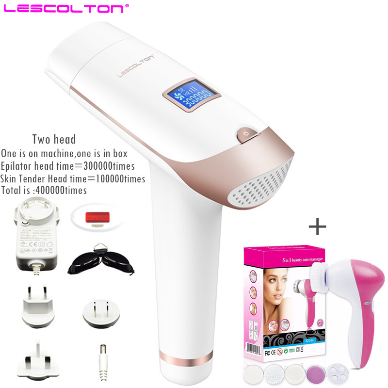 Permanent Mini Laser IPL Hair Remover Depilatory Portable Intensed Pulsed Light Laser Hair Epilator With difference gift