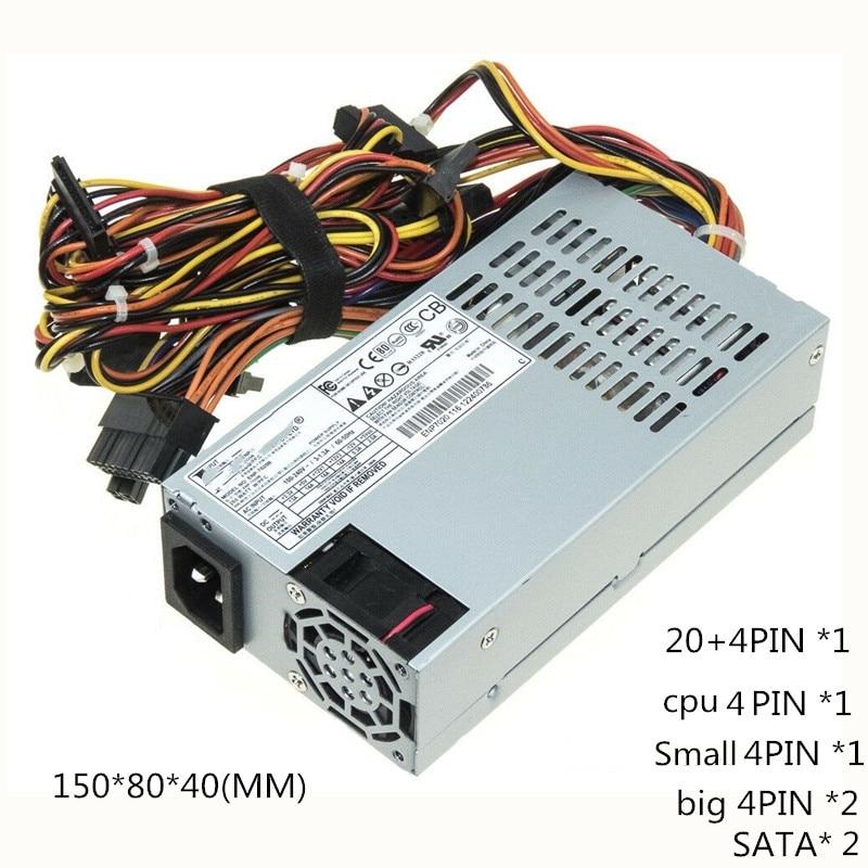 Новый блок питания 150 Вт для сервера ENP 7015B, 150 Вт, гибкий маленький блок питания 1U, бесшумный NAS, промышленный блок питания ATX 20 + 4pin, с поддержко...