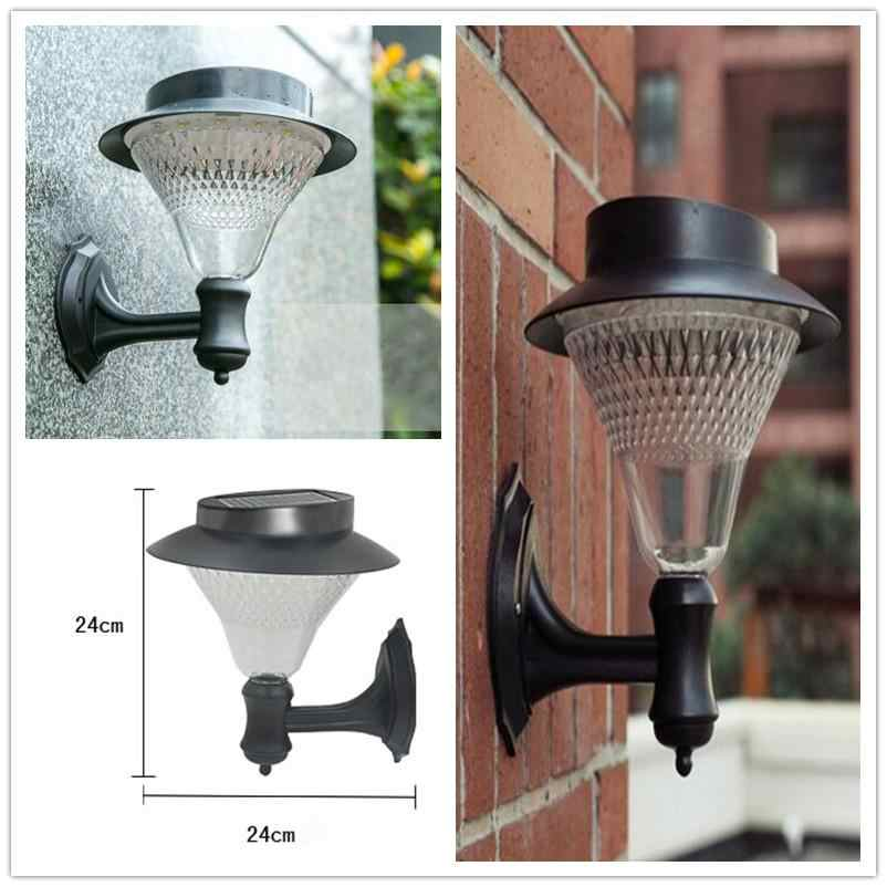 LumiParty Солнечный сад 16 светодиодов светодиодный датчик настенный светильник солнечные уличные фонари мощность открытый водонепроницаемый Luminaria аккумуляторные лампы