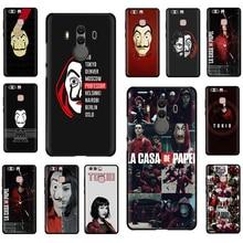 La Casa de Papel Soft Silicone phone case for Huawe