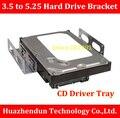 ТОП ПРОДАЖ CD Дисков Лоток Лоток для Жестких Дисков 3.5 до 5.25 Жесткий Диск Кронштейн Рабочего SSD Преобразования Кронштейн HDD Caddy