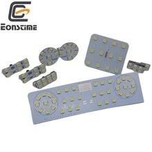 Eonstime 12V 8pcs/set 5050 SMD LED Car Interior Reading Lights Case for Volkswagen VW Passat CC R36 GTI 6500K