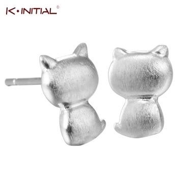 1Pcs Hot Personality Hip Hop Animal Kitten Piercing Earring Jewelry Accessories Women Cute Cat Earrings Bijoux Drop Shipping