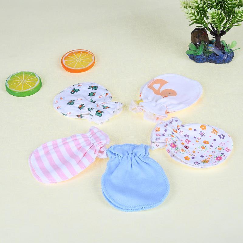 5 paar / set baby-handschoenen winter katoen vier seizoenen volledige - Babykleding - Foto 3