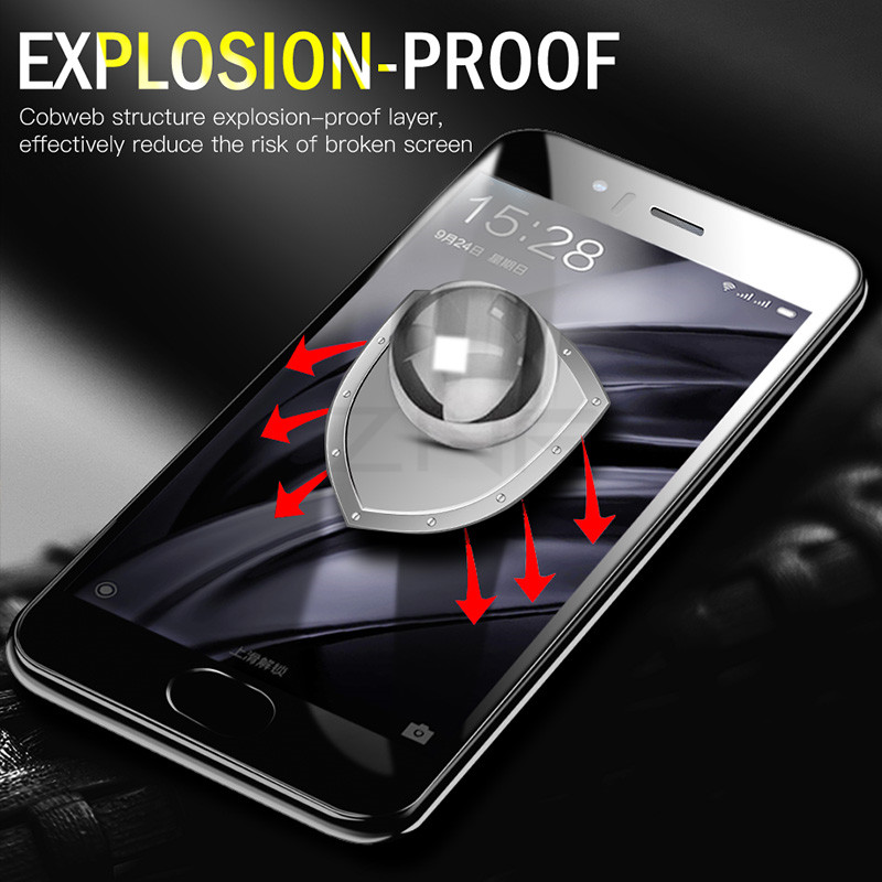 Closeout DealsåZNP Screen-Protector Hydrogel Not-Tempered-Glass Xiaomi Mi Note Curved Full-Cover Plus