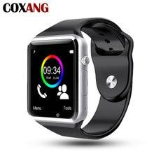COXANG Смарт-часы A1 наручные часы камера 2 г sim-карта Наберите вызова Сенсорный экран Водонепроницаемый Спорт A1 Smartwatch для Apple IOS Android