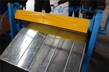 harsle pan box Manual sheet metal bending machine/ aluminum folding machine on sale