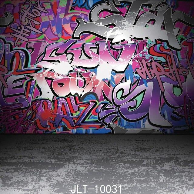 Sjoloon Cartoon Theme Photo Background Chidren Photography Backdrops Graffiti Wall Photo Background For Photo Studio Vinyl