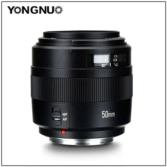 YONGNUO YN50mm Lens F1 4N E Standard Prime Lens F1 4 Large Aperture Auto Manual Focus
