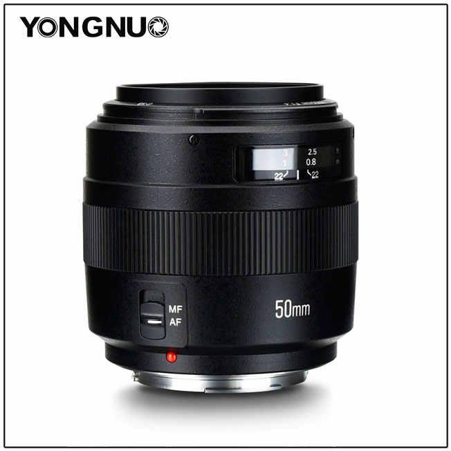 YONGNUO YN50mm Ống Kính F1.4N E Tiêu Chuẩn Ống Kính Chính F1.4 Lớn Khẩu Độ Tự Động Nhãn Hiệu Tập Trung Ống Kính cho Nikon Canon EOS 70D 5D2 5D3 600D