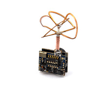 JMT 5.8G 25mW 32CH Mini Tiny AV Transmitter TX for DIY Indoor Brushed Racing Drone FPV Better Than FX797T with 520TVL Camera
