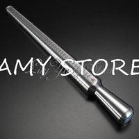New Aluminum Metal Ring Sizer Mandrel Finger Sizing Measurer Stick Jeweler Tool