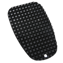 1PC Universal Motorcycle Kickstand Side Stand Plate Pad Black Plastic Kicker Foot  Support Pad Base Non slip Extension