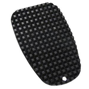 Image 1 - Pata de cabra Universal para motocicleta, placa de soporte lateral, almohadilla de soporte de pie de mimbre de plástico negro, Base de extensión antideslizante, 1 ud.