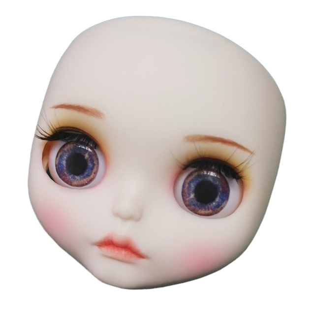 Blyth Doll 1/6 Joint Body hand painted matte face white skin Little girl blond hair suit DIY BJD SD toy gift AB hand set