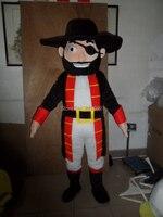 Маскарадные костюмы Пираты талисман костюм Взрослый размер Пираты талисмана Бесплатная доставка