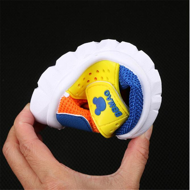 MHYONS 2017 New fashion 1 to 7 years old baby boys and girls casual sport shoes soft bottom children running shoes kids sneakers