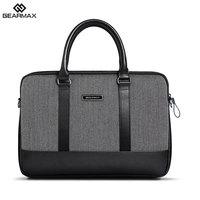 Laptop Sleeve Bag For Gearmax British Style Herringbone Business Handbag Laptop Bag For Apple Macbook 13