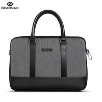 laptop sleeve bag for Gearmax British Style Herringbone Business Handbag For Macbook Air 11 12 13 Pro Retina 13 15 Notebook Bags