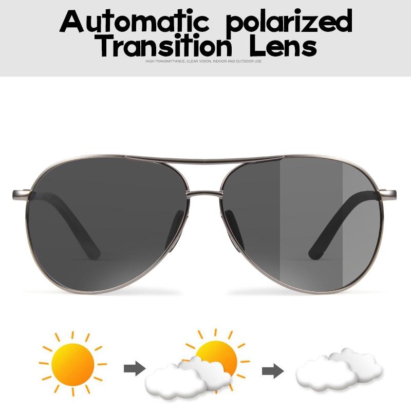Bertha Conduite lunettes de Soleil Photochromiques Hommes Polarisées Caméléon Décoloration Soleil lunettes pour hommes oculos de sol masculino BS2188