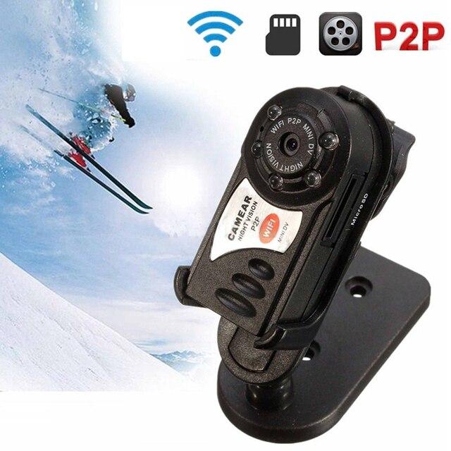 Портативная Видеокамера Инфракрасного Ночного Видения Мини-Камера Wifi Беспроводной Cam Video Recorder