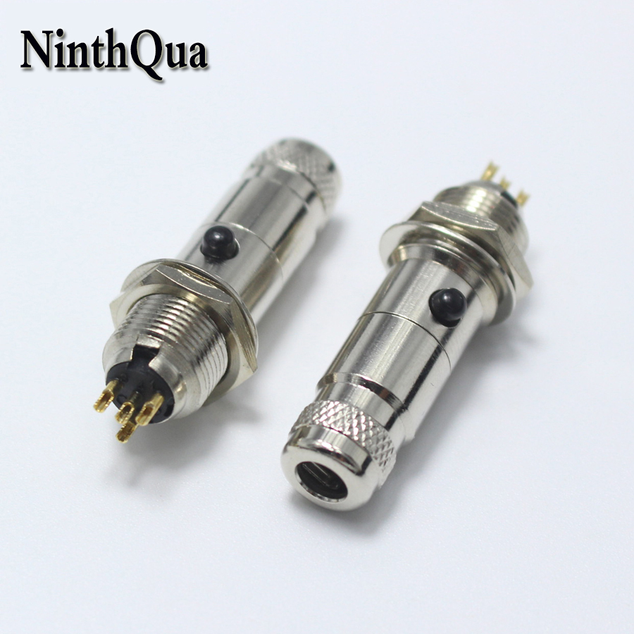 1pair Mini XLR 4 Pin Male jack + Female Plug Small Metal XLR 4P Audio Socket Microphone Connector MIC Adapter for PCB Borad1pair Mini XLR 4 Pin Male jack + Female Plug Small Metal XLR 4P Audio Socket Microphone Connector MIC Adapter for PCB Borad