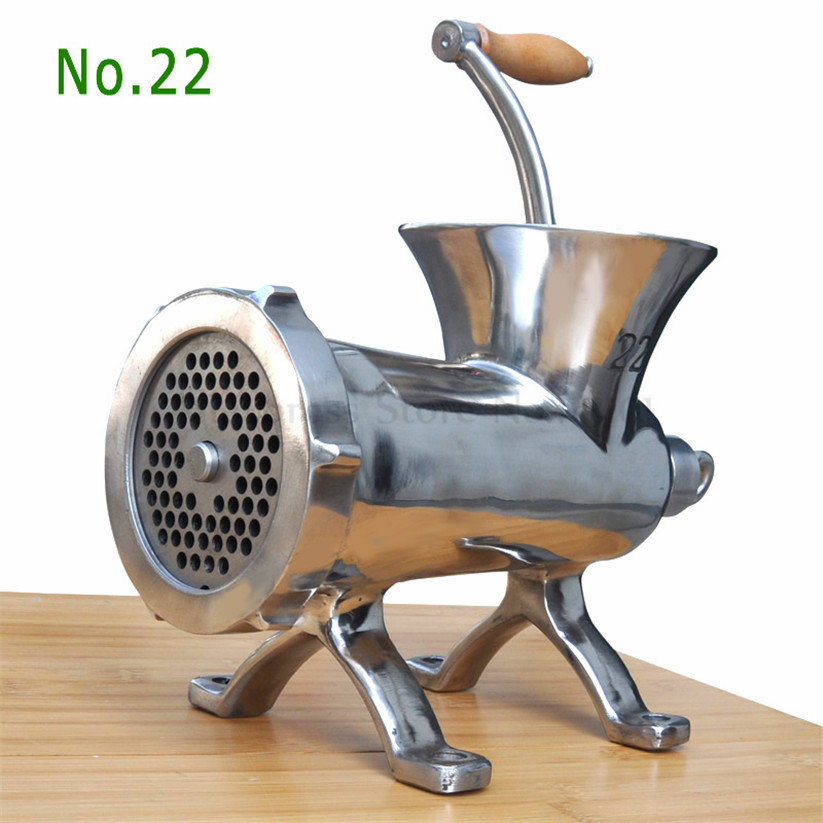 22# Heavy Duty Hand Operated Meat Grinder Beef Sausages Maker Household Manual Meat Mincer hand operated meat grinder beef noodle sausages maker household manual meat grinding machine