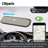 CNparts Universal Car Wireless Bluetooth Kit Handsfree Speaker Phone For Renault Megane 2 Logan Alfa Romeo 159 Jeep Accessories