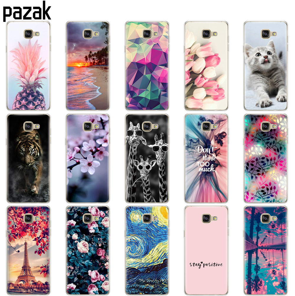 Case For Samsung A7 2016 Case Coque A710F A710 SM-A710F Soft TPU Back Cover On For Samsung Galaxy A7 2016 Bumper Shockproof