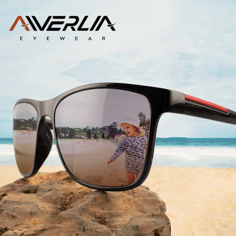 AIVERLIA Marca Designer Óculos De Sol Das Mulheres Do Vintage Óculos de Sol Quadrado Quadro AI44 UV400 Shades Unisex Oculos de sol Dos Homens Gradiente