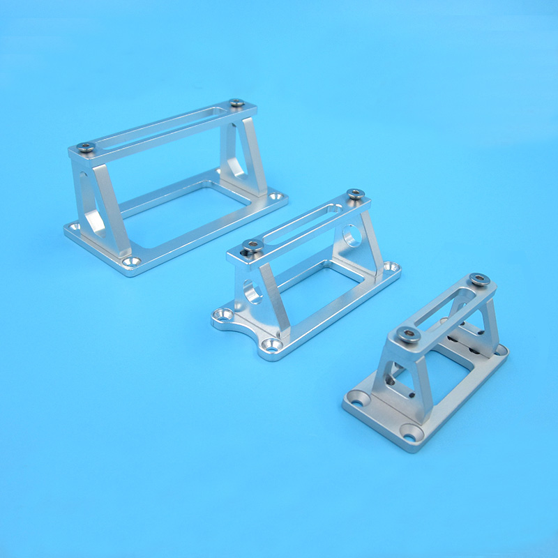 1PCS Metal S3003 Servo Mount Aluminum CNC 225MG Servos Bracket Adjustable Server Seat for RC Model Electric Jet Boats Accessorie