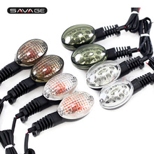 Turn Signal Indicator LED/Bulb For KAWASAKI NINJA 250R VN 650 Vulcan S KLX250S KLX250SF Motorcycle Accessories Light Lamp Lens недорого