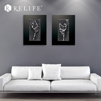 Ballet Dancing Girl Decorative Wall Painting for Living Room Nordic Home Decor Pictures by Figures