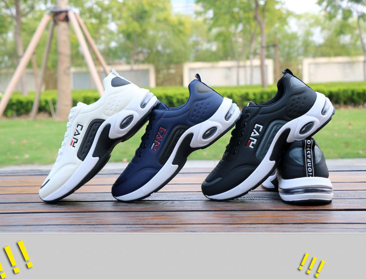 HTB1ffuEJ6TpK1RjSZKPq6y3UpXaW New Men's Casual Shoes Shock Absorption Cushion Shoes Campus Wind Non-Slip Shoes Leather Stitching Men's Casual Shoes