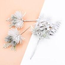 1 Набор декоративных цветов, венки для невесты, цветы на запястье, Рождественский Декор для дома, свадьбы, Подарочная коробка, искусственные растения