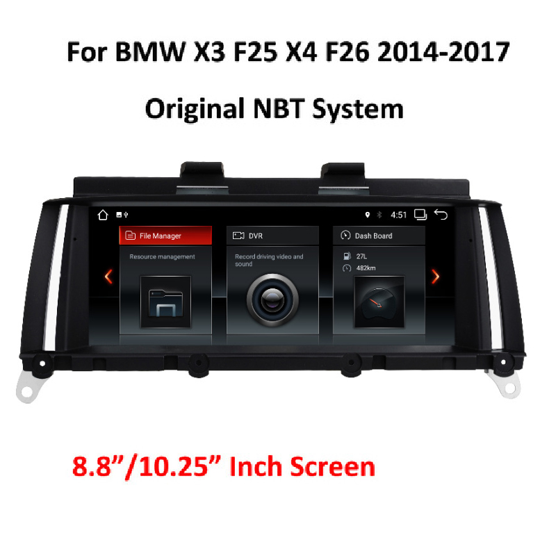 Android 7.1 System Car Multimedia Screen Player For BMW X3