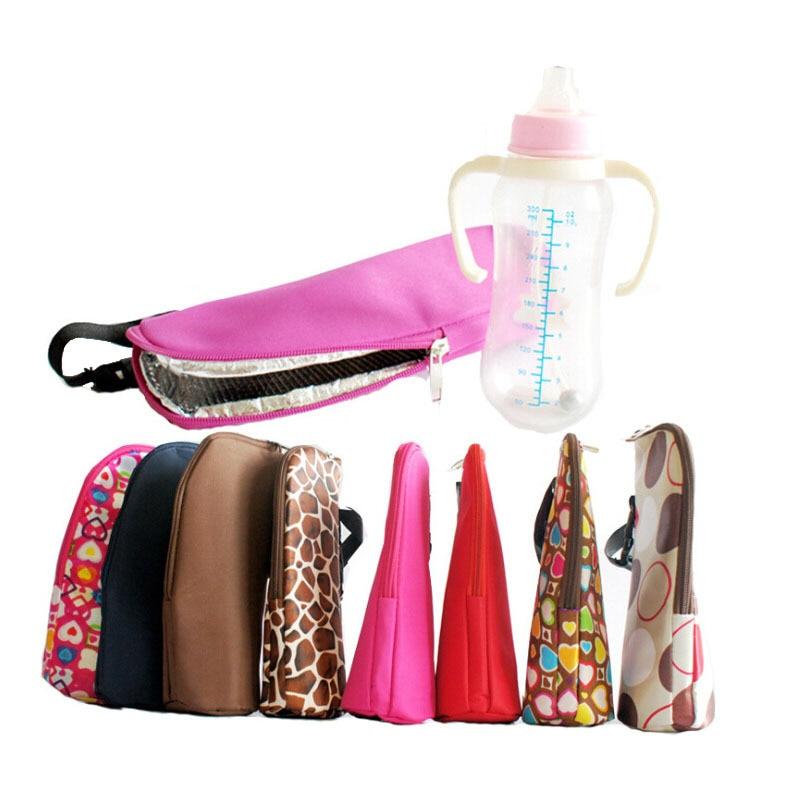 Baby Feeding Bottle Insulation Bag Thermal Bag for Baby Bottles Bolsa Termica Thermos Baby Bottle Holder can hanging stroller
