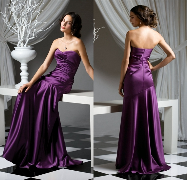 Popular New 2016 Royal Purple Bridesmaid Dresses-Buy Cheap New ...