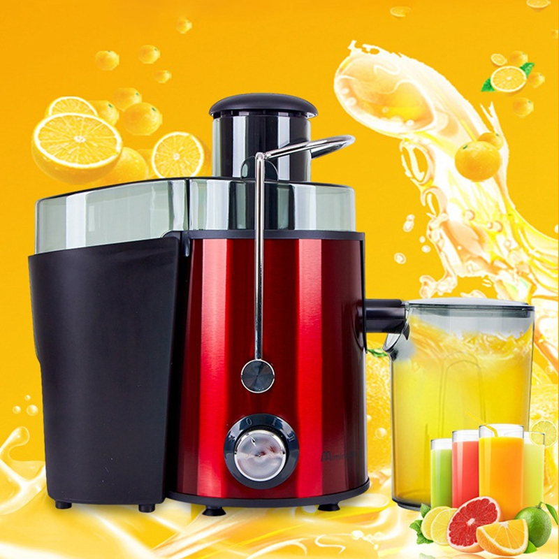 HIMOSKWA Stainless Steel Electric Juicer Fruit Juice Extractor Home Exprimidor Vegetable Blender Machine Food Processor 500ML electric orange fruit juicer machine blender extractor lemon juice