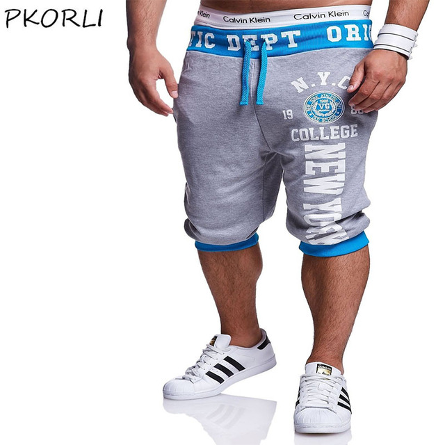 Fashion Men Shorts Casual Elastic Brand Jogger Mens Beach Shorts Bermuda Beach Male Short Shorts Hip Hop Outer Wear Trousers