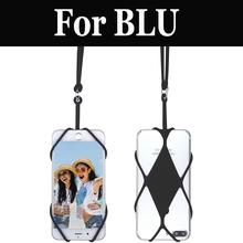 Cell Phone Lanyard Universal Silicone Cover Phone Neck For BLU R1 HD Studio G HD LTE Life One X2 Vivo 5R Life One X2 Mini(China)