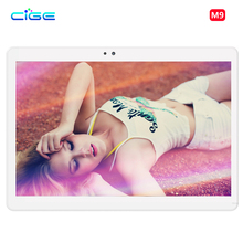 M9 Android 6.0 Tablet Pc 10.1 дюймов tablet PC Phone call 4 Г LTE octa ядро 1920×1200 4 + 64 Dual SIM GPS IPS FM таблетки Шт WiFi 10