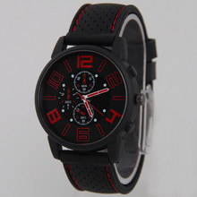mens stainless steel analog watch trendy fashion military chronograph sport cool quartz hours ana-log