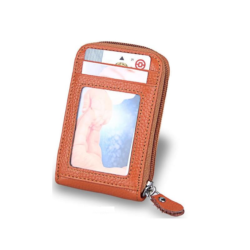 New Unisex Genuine PU Leather Credit Business ID Card Holder Pocket Wallet Case Bags 2018 pu leather unisex business card holder wallet bank credit card case id holders women cardholder porte carte card case
